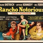 """Rancho Notorious"", la ballata western di Fritz Lang."