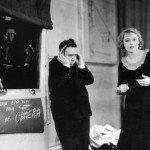 """Sul set di """"Ricatto"""", 1929"""
