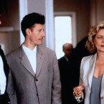 "Con Rupert Everett e Lyle Lovett in ""Prêt-à-Porter"" (1994)"