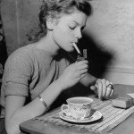 Lauren Bacall nei primi anni Quaranta.
