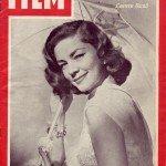 """Copertina della rivista canadese """"Le film"""", 1951, in cui compare con il nome Laureen."""