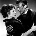 """Foto promozionale de """"Le foglie d'oro"""" (1950), con Gary Cooper."""