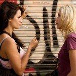"Insieme a Penelope Cruz in ""Vicky, Cristina, Barcelona"" (2008) di Woody Allen"