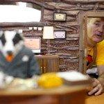 Il tasso Badger in Fantastic Mr. Fox (2009) di Wes Anderson
