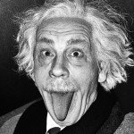 Arthur Sasse / Albert Einstein Sticking Out His Tongue © Sandro Miller courtesy of Catherine Edelman Gallery Chicago
