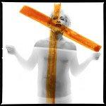 Bert Stern / Marilyn Monroe, crucifix II © Sandro Miller courtesy of Catherine Edelman Gallery Chicago
