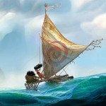 """Prima immagine ufficiale di """"Moana"""", il nuovo film Disney."""