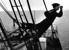 """Un Film al Mare: """"Il navigatore"""" con Buster Keaton."""