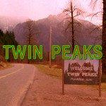 L'immagine di apertura della sigla originale di Twin Peaks.