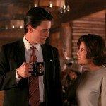 L'agente Dale Cooper, il suo caffé nero e Audrey Horne.