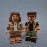 Personaggi LEGO ispirati ai protagonisti de Il Grande Lebowski.