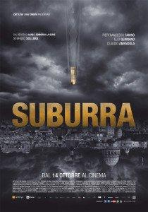 La locandina ufficiale di Suburra