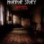 Un teaser poster di AHS Hotel