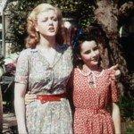 Sorella maggiore di Liz Taylor in 'Gran Premio' (1944)