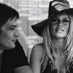 Alain Delon e Brigitte Bardot
