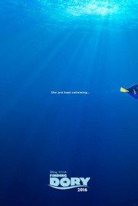 """Il primo teaser poster ufficiale di """"Alla ricerca di Dory"""""""