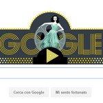Il Google doodle dedicato a Hedy Lamarr