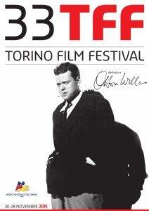 La locandina ufficiale del Torino Film Festival 2015 dedicata a Orson Welles