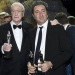 Michael Caine, Miglior Attore, con Paolo Sorrentino