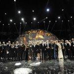 Foto di gruppo per i vincitori degli EFA 2015