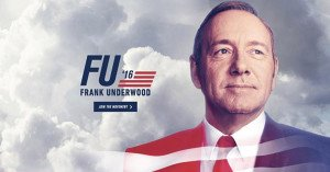 """House of Cards"": Frank Underwood for President"