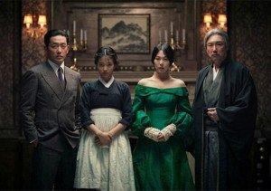 """Il cast di """"The Handmaid"""" in una foto promozionale"""