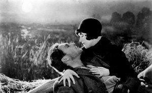 Un'immagine tratta dal film 'Aurora' di Friedrich W. Murnau