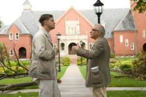 DiCaprio e Scorsese sul set di Shutter Island