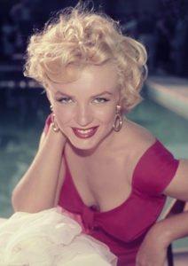 """Marilyn Monroe in una foto promozionale di """"Niagara"""""""