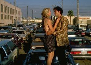 """Laura Dern e Nicolas Cage in """"Cuore selvaggio"""""""