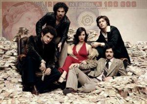 """I protagonisti di """"Romanzo criminale - La serie"""""""