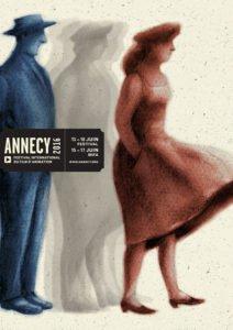 Il manifesto ufficiale del Festival di Annecy 2016