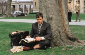 John Nash dottorando solitario a Princeton