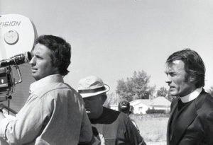 """Cimino e Clint Eastwood al lavoro sul set di """"Una calibro 20 per lo specialista"""""""