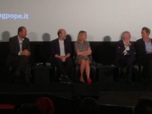 Javier Càmara, Ludivine Sagnier, Gianni Canova e Paolo Sorrentino
