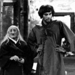 """Carlo Pisacane con Gian Maria Volontè ne """"L'armata Brancaleone"""" (1966)"""