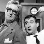 """Mario Carotenuto e Renato Rascel in """"Come te movi, te fulmino"""" (1958)"""