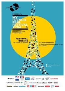 La locandina ufficiale del My French Film Festival 2017