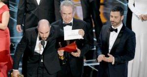 Oscar 2017: il premio al Miglior Film è stato assegnato… al film sbagliato!
