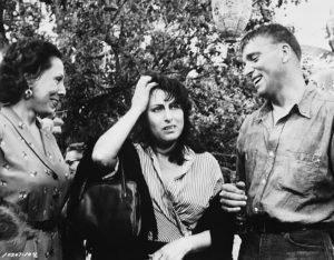 """La Magnani e Burt Lancaster, """"La rosa tatuata"""" (1955)"""