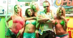 "Il cast del film ""Spring Breakers"" (2012)"
