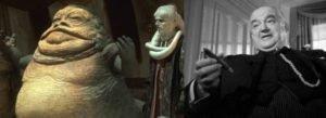 Jabba vs. Sydney Greenstreet