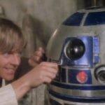 Luke e R2D2 (1977)