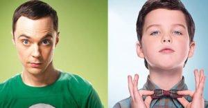 Jim Parsons e Iain Armitage: Sheldon a confronto