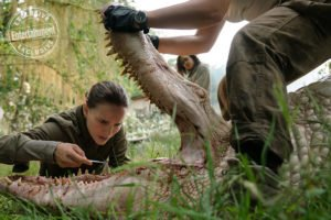 "Una scena di ""Annihilation"" © Entertainment Weekly"