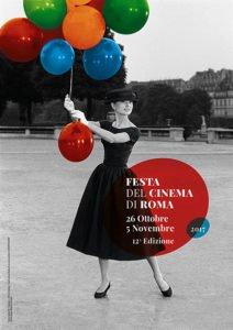 Il manifesto ufficiale della Festa del Cinema di Roma 2017