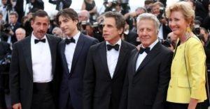 Parte del cast di The Meyerowitz Stories a Cannes 2017