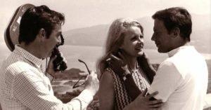 Lenzi, la Baker e Jean-Louis Trintignant sul set di Così dolce... Così perversa
