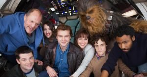 Il cast di Solo: A Star Wars Story