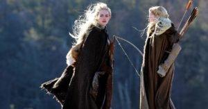 Emma Stone in versione fantasy sul set di Maniac